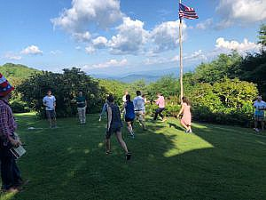 Games at The Swag in the Smoky Mountains